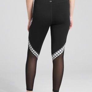Gap eclipse mesh leggings